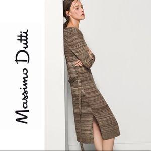 Massimo Dutti Sweater Dress